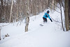Tawny rides powder up at Smuggler's Notch