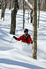 Backcountry Skiing on the Woodward Mountain Trail