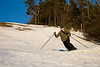 A Beautiful day skinning and telemark skiing at Bolton's Timberline
